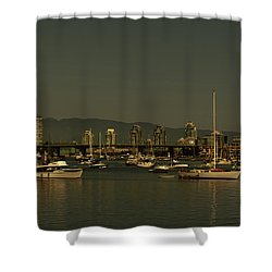 Marina Golden Hours Shower Curtain