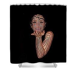 Mask Beautiful Aj Shower Curtain