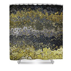Shower Curtain featuring the painting Matthew 4 16. Light Has Dawned by Mark Lawrence