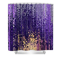 Shower Curtain featuring the painting Matthew 5 14. Light Of The World by Mark Lawrence