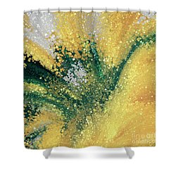 Shower Curtain featuring the painting Matthew 5 16. Let Your Light Shine by Mark Lawrence