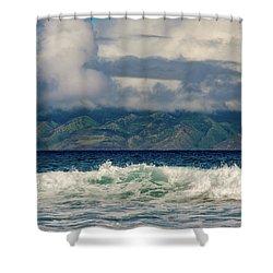 Maui Breakers II Shower Curtain