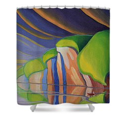 Mazinaw Rock I Shower Curtain