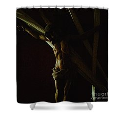 Measuring Up To Jesus Shower Curtain