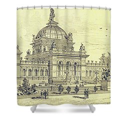 Memorial Hall, Centennial Shower Curtain