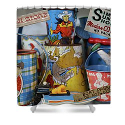 Memories Of Iowa Great Lakes Shower Curtain