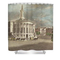 Merchants Exchange, 1838 Shower Curtain