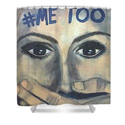 #me_too Shower Curtain