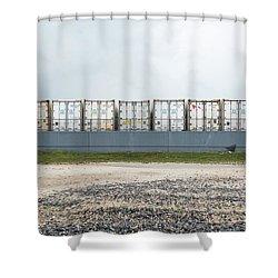 Miami Topographics 15 Shower Curtain