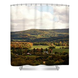 Shower Curtain featuring the photograph Middleburg In New York by Angie Tirado