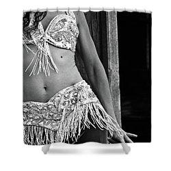 Mideastern Dancing 3 Shower Curtain