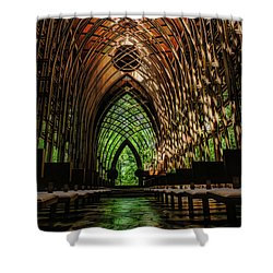 Mildred B. Cooper Memorial Chapel Shower Curtain