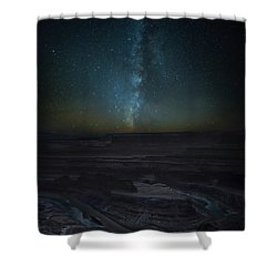 Shower Curtain featuring the photograph Milky Way Over Dead Horse Point by David Morefield