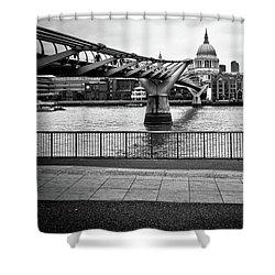 millennium Bridge 02 Shower Curtain