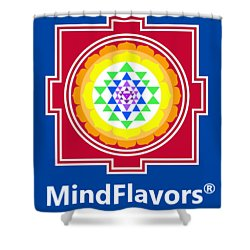 Mindflavors Medium Shower Curtain