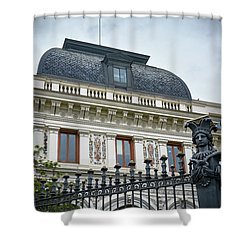 Ministry Of Agriculture Building Of Madrid Shower Curtain