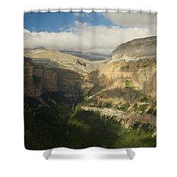 Mirador De Calcilarruego Shower Curtain