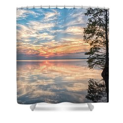 Mirrored Shower Curtain