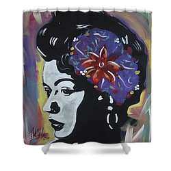 Miss Holiday Shower Curtain
