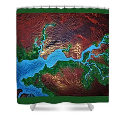 Mission River Shower Curtain