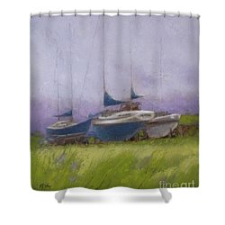 Misty Shower Curtain