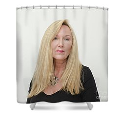 Molly Devoss Shower Curtain