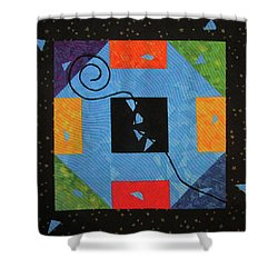 Monkey Tail Shower Curtain