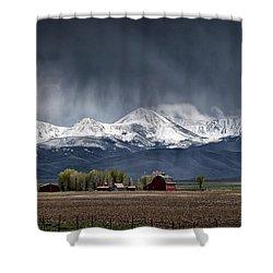Montana Homestead Shower Curtain