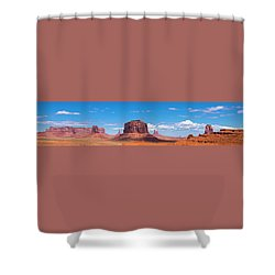 Monument Lookout Shower Curtain