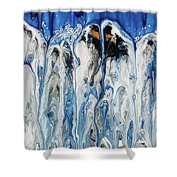 Moo Moon Shower Curtain