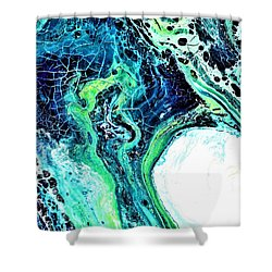Moonglow  Shower Curtain