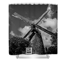 Shower Curtain featuring the photograph Morgan Lewis Mill 2 by Stuart Manning