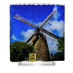 Shower Curtain featuring the photograph Morgan Lewis Mill by Stuart Manning