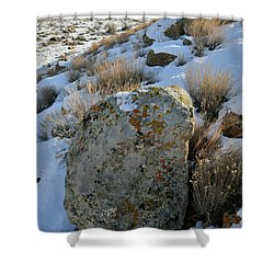 Morning At The Book Cliffs Shower Curtain