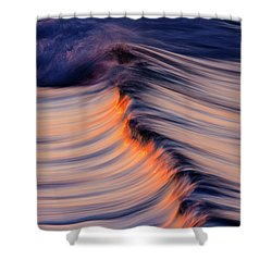 Morning Wave Shower Curtain