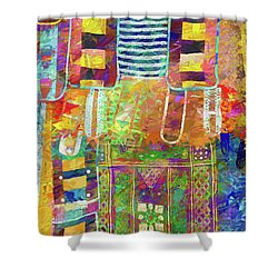 Mosaic Garden Shower Curtain