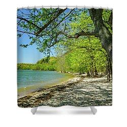 Moss Creek Beach Shower Curtain