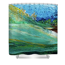 Mother Nature - Landscape View Shower Curtain