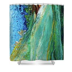 Mother Nature - Portrait View Shower Curtain