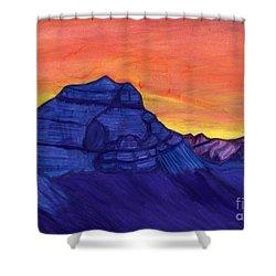 Mount Kailash Shower Curtain