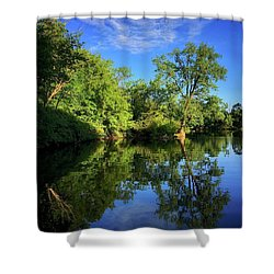 Shower Curtain featuring the photograph Mount Vernon Iowa by Dan Miller