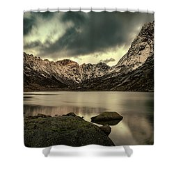 Mountain Lake Shower Curtain