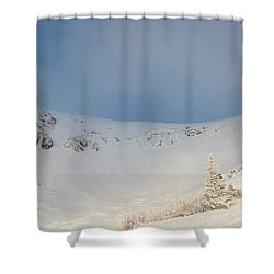 Mountain Light, Tuckerman Ravine Shower Curtain