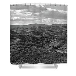 Mountain Paths Shower Curtain