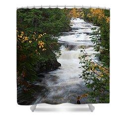 Moxie Stream Shower Curtain
