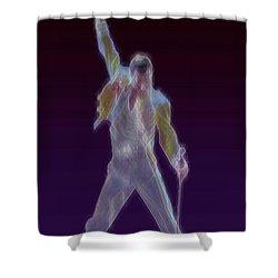 Mr. Fahrenheit Shower Curtain