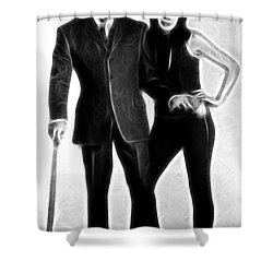 Mrs. Peel, We're Needed Shower Curtain