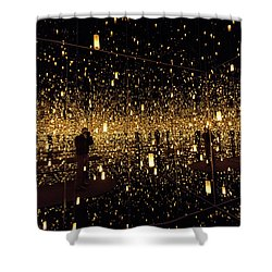 Shower Curtain featuring the photograph Multiplicity by Alex Lapidus