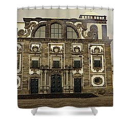 Shower Curtain featuring the photograph Museu Carlos Machado by Tony Murtagh
