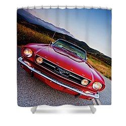 Mustang Convertible Shower Curtain
